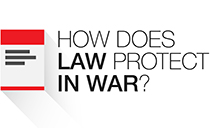 How does law protect in war? - Online casebook